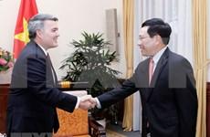 Le vice-PM Pham Binh Minh demande de promouvoir le partenariat avec les Etats-Unis