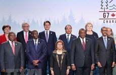 Le PM Nguyên Xuân Phuc participe au Sommet du G7 élargi, visite le Canada