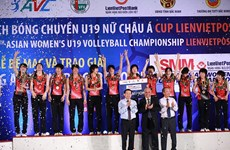 Le Japon remporte le tournoi de volley-ball féminin U19 d'Asie