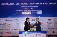Technologie d'Information: signature d'un accord entre Séoul et Hanoï