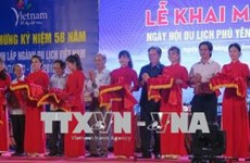 """Ouverture de la fête touristique """"Phu Yen, destination attrayante et hospitalière"""""""