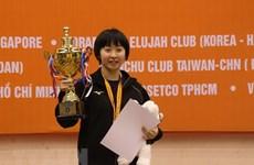 """Clôture du tournoi international """"Raquette d'or » : le Japon champion en équipe"""