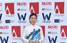 La peintre Nguyen Thu Thuy remporte la médaille d'argent à un concours international de design