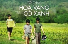 Projection d'un film vietnamien à New Delhi
