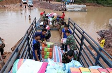 Effondrement d'un barrage au Laos : la Croix-Rouge vietnamienne aux côtés des victimes