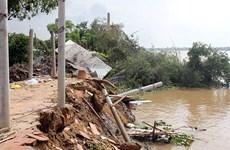 Ben Tre : mise en place à titre expérimental d'ouvrages de prévention de l'érosion du littoral