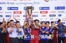 Le Vietnam devient champion du tournoi international Vinaphone U23
