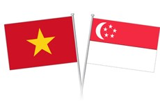 Célébration du 53e anniversaire de la Fête nationale de Singapour à Ho Chi Minh-Ville