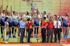 Volley-ball féminin : le Vietnam remporte le tournoi VTV – Coupe Hoa Sen 2018