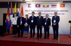 Les pays CLMTV discutent de la protection sociale pour les travailleurs migrants