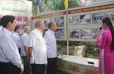 Exposition de photos sur la Révolution d'Août et la résistance du Nam Bô à Can Tho