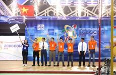 Le Vietnam, champion du concours ABU Robocon 2018