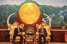 Justice : Des dirigeants laotiens apprécient les résultats de la coopération avec le Vietnam