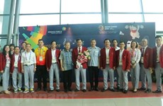 ASIAD 2018 : l'ambassadeur du Vietnam en Indonésie félicite les sportifs vietnamiens