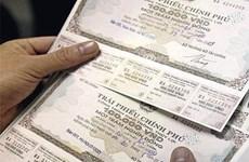 Obligations gouvernementales : plus de 3.600 milliards de dongs récoltés