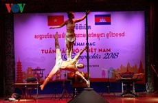 La Semaine culturelle vietnamienne au Cambodge