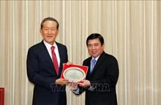 Coopération efficace entre Ho Chi Minh-Ville et la République de Corée