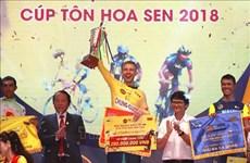 Clôture de la course internationale de cyclisme VTV – Coupe Ton Hoa Sen