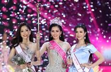 Miss Vietnam 2018 : Tran Tieu Vy, nouvelle reine de la beauté du Vietnam