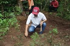 Découverte de traces d'hommes préhistoriques à Tuyen Quang
