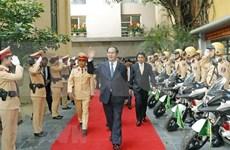 Le général Tran Dai Quang, un commandant en chef toujours attaché à la Police populaire