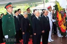 Célébration solennelle des funérailles nationales pour le président Trân Dai Quang