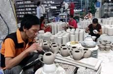 Croissance des exportations de porcelaines et céramiques vers l'Argentine