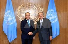 Le Premier ministre Nguyen Xuan Phuc rencontre des dirigeants de l'ONU