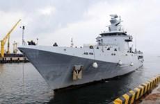 Un navire de la marine brunéienne en visite de courtoisie à Da Nang