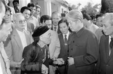 L'ancien secrétaire général Do Muoi, un communiste exemplaire et loyal