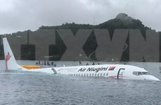 Des citoyens vietnamiens sains et saufs après un accident d'avion en Micronésie