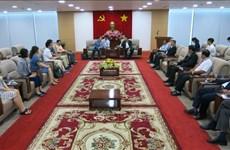 WTA offre des opportunités de coopération pour la province de Binh Duong