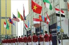 Asian ParaGames 2018 : Cérémonie de lever du drapeau de la délégation handisport vietnamienne