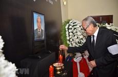 L'hommage des amis internationaux à l'ancien secrétaire général Dô Muoi