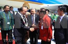 Le Premier ministre Nguyen Xuan Phuc est arrivé à Bali, en Indonésie
