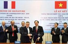 Intensification de la coopération entre Ho Chi Minh-Ville et Lyon (France)