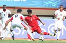 Championnat AFC U-19: Courageux, le Vietnam bute sur la Jordanie