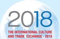 """""""L'échange international de la culture et du commerce 2018"""" en novembre à HCM-Ville"""