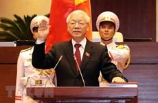 Félicitations au nouveau président Nguyen Phu Trong