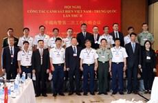 La 2e conférence des garde-côtes Vietnam-Chine se tient à Vung Tàu