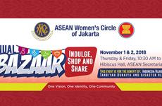 Ouverture du Bazar 2018 du Cercle des femmes de l'ASEAN à Jakarta