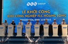 Mise en chantier de la zone industrielle FLC Hoàng Long