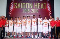 Basket-ball : Saigon Heat participera à l'ASEAN Basketball League
