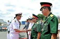 Un navire de la Marine sud-coréenne en visite à HCM-Ville