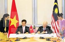 Nouvelles perspectives pour la coopération entre le Vietnam et la Malaisie et Singapour