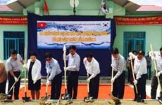 Aide sud-coréenne pour l'adduction d'eau courante à Ninh Thuân