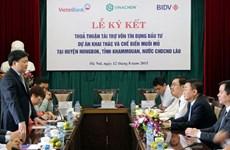 VietinBank accorde 3.000 milliards de dongs à un projet de Vinachem au Laos