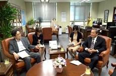 Une délégation de la Cour populaire suprême en visite en R. de Corée