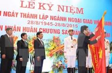 Célébration du 70e anniversaire de la diplomatie vietnamienne