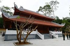 Inauguration d'une maison commémorative de Ho Chi Minh